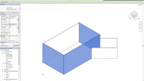 home design 3d change wall height revit house 05 changing wall height youtube