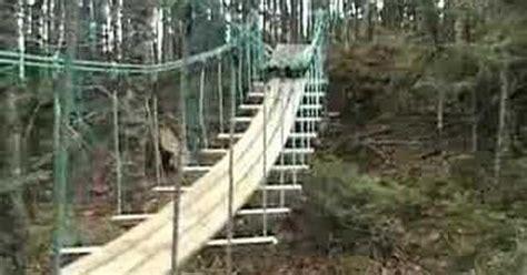 low cost suspension footbridge random photos pinterest