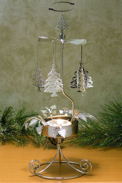 christmas decoration with candles that spins mouthtoears com