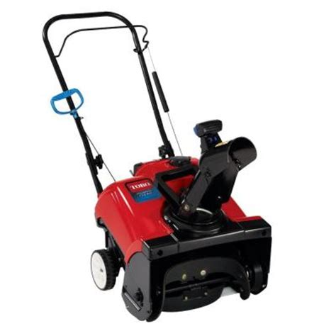 small snow blowers home depot toro power clear 418 zr 18 in single stage gas snow