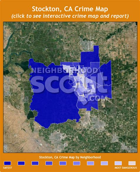 california crime map stockton ca crime rates and statistics neighborhoodscout