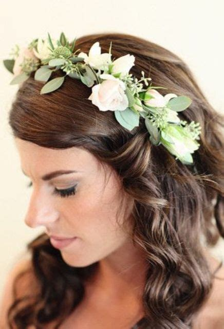 68 flower crown ideas to complete your wedding hairstyle 25 stunning spring flower crown ideas for brides