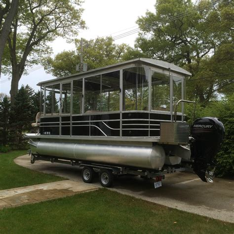 luxury cabin boats pontoon cruiser luxury edition cabin cruiser cer 2015
