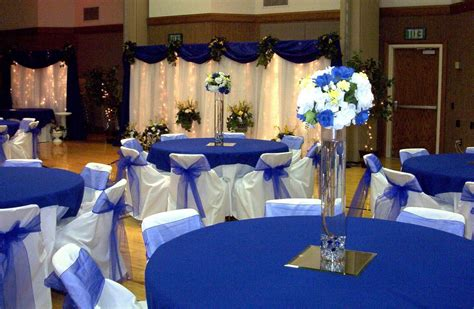 Royal Blue Decorations by Chebria S Wedding Sign Rustic Wooden