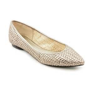 Marc fisher marc fisher taanya2 womens silver flats shoes flats