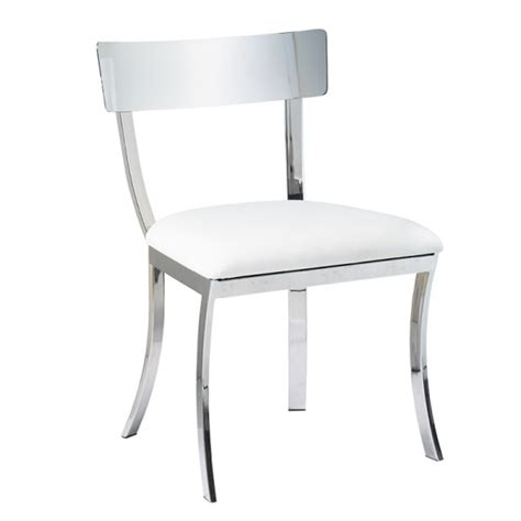 White Metal Dining Chairs White Metal Dining Chairs White Metal Dining Chair With Teak Seat In Chairs Stools The
