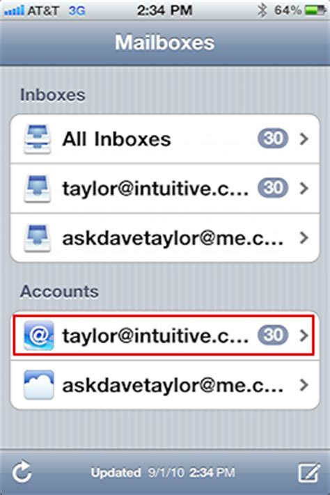 How Do I Search My Email On Iphone How Do I Find Quot Sent Quot Mail Messages On My Iphone 4 Ask Dave