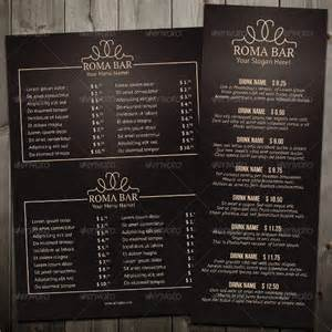 restaurant menu templates free bar menu templates 35 free psd eps documents