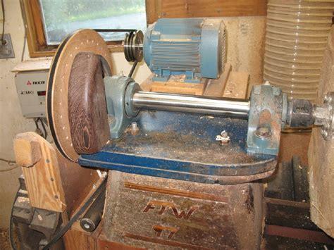 Handmade Lathe - wood shop wood turning lathe