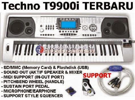 Keyboard Techno T9800i New 100 keyboard techno distributor grahasta musik jual keyboard