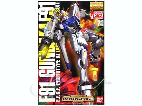 Bandai Original Mg 1 100 Gundam F91 Plus Stand Base 1 100 mg gundam f91 w special clear armor parts by bandai hobbylink japan