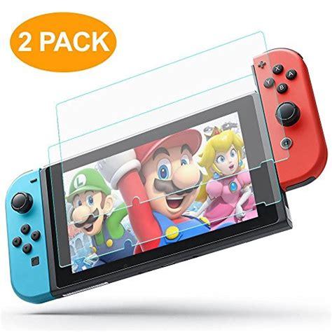 Blue Light Screen Guard Emio For Nintendo Switch nintendo switch screen protector 2 pack alclap anti blue light protection switch