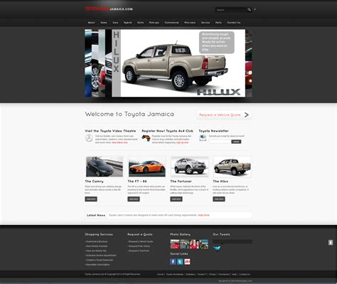 toyota corporate website tacoma website html autos post