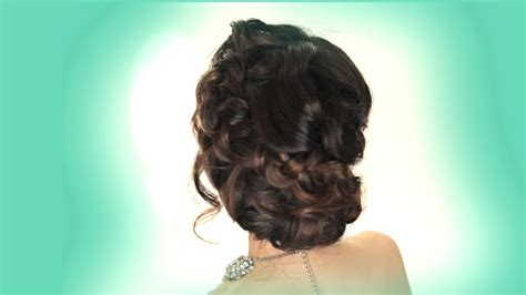 prom updo hairstyle easy wedding braids hairstyles youtube