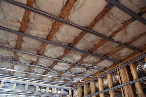 How To Install Resilient Channel On Ceiling by Theaterblog Hush Baby Soundproofing The Room Part I