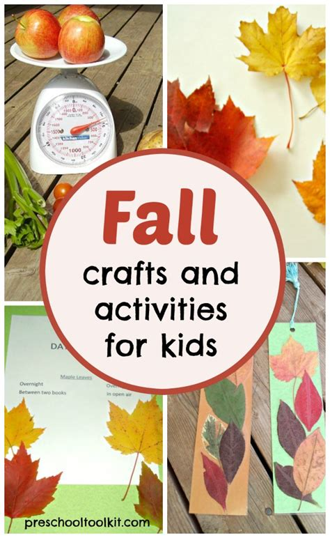 fall themed crafts for fall themed crafts and activities for preschool
