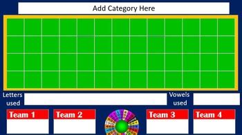 Classroom Wheel Of Fortune Template By Handy Teaching Tools Tpt Wheel Of Fortune Classroom
