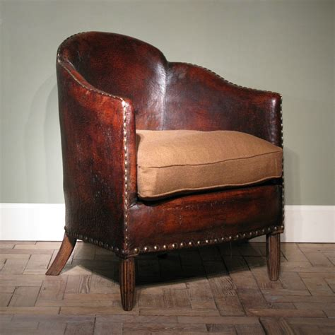 leather armchair uk wonderful 1920s french antique leather armchair leather