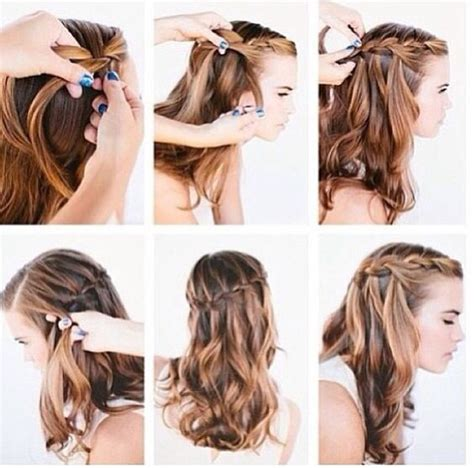 hairstyles to do with plaited extensions french braid tutorial hair pinterest feelings braid