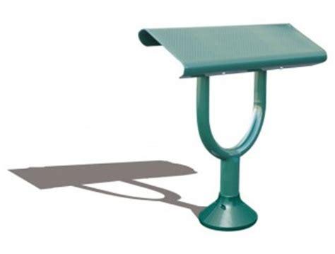 Assis debout mobilier urbain, banc assis debout banc