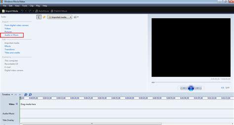 tutorial menggunakan windows movie maker cara memotong lagu mp3 menggunakan windows movie maker