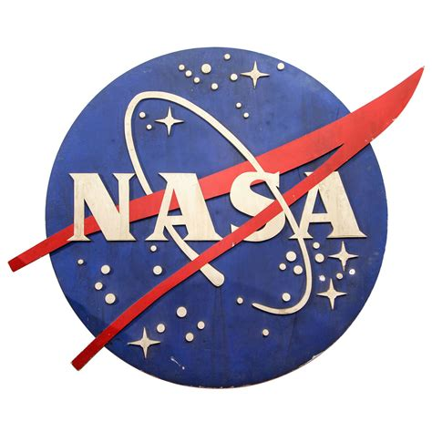 Styles Of Furniture For Home Interiors vintage handmade nasa sign at 1stdibs