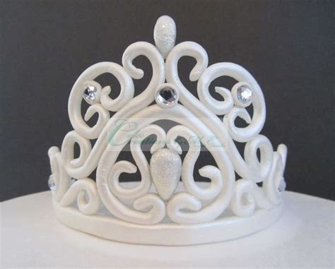 tiara template for cake fondant tiara w template princess cakes cupcakes