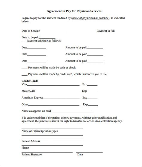 payment plan agreement template 25 free word pdf