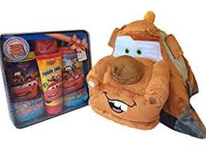 disney cars tow mater pillow pet and bath gift