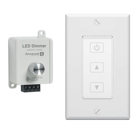 Can You Use A Dimmer Switch With A Ceiling Fan 2 in 1 led dimmer with rf wireless touchpad armacost lighting