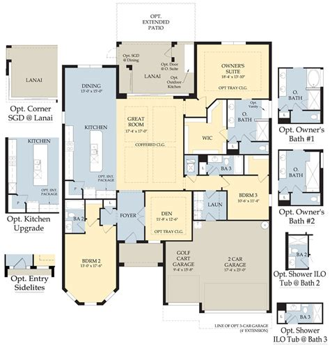 dartmouth floor plans dartmouth ii new home plan naples fl pulte homes new
