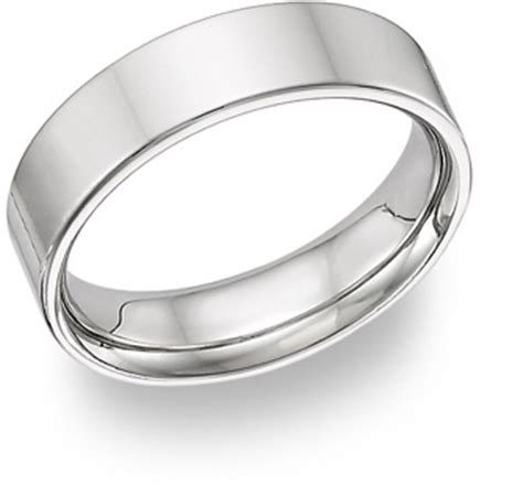plain classic simple wedding bands applesofgold
