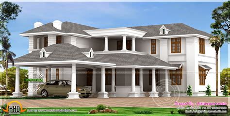 big luxury home design kerala home design and floor plans