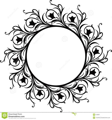 how to create a vector decorative frame in illustrator decorative frame vector stock image image 519801