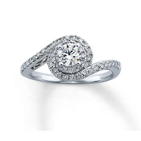 tolkowsky for style 990741302 white gold engagement