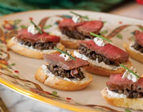 beef canape recipes beef wellington canap 233 s teatime magazine