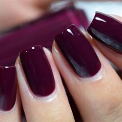 maroon nail color best 25 plum nails ideas on plain nails dot