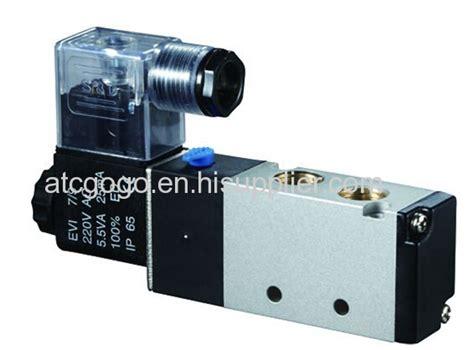 Pneumatic Single Solenoid Valve 5 2 G1 4 Chelic Sv 6102 Sw 6102 5 2 way pneumatic air solenoid valve coil with led