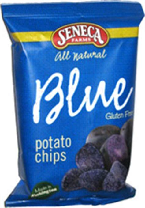 Blueduck Potato Chips label seneca american food service product wabel