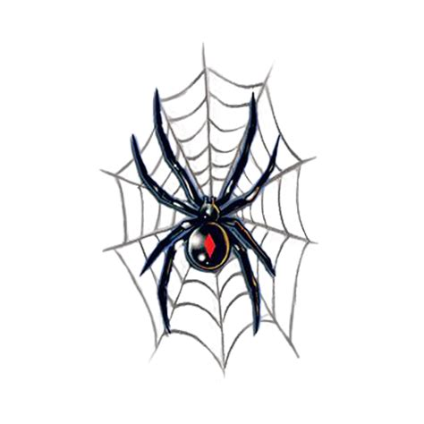 charlotte s web tattoo black widow temporary