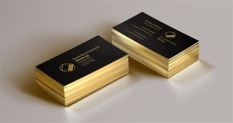 gold membership card template psd psd business card mock up vol13 psd mock up templates