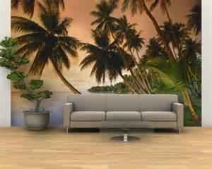 Hawaiian Wall Murals Tropical Mural Wall Ideas Home Design Ideas