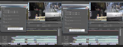 adobe premiere pro gpu rendering краткий обзор нового gpu accelerated движка в adobe