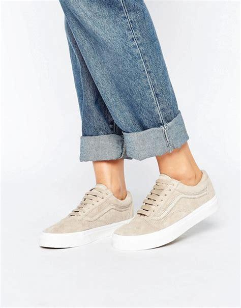 Sepatu Runninglarigymaerobiknike Airmax Signature Silver vans vans premium suede skool sneakers in beige