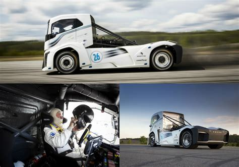 volvo truck production the world s fastest truck is a volvo called the iron