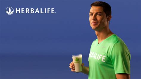 cristiano ronaldo herbalife nutrition for a better