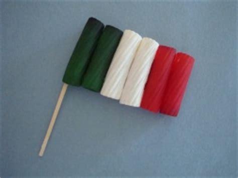 italian crafts rigatoni italian flag