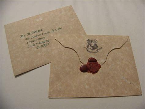 Hogwarts Acceptance Letter And Envelope harry potter hogwarts acceptance letter