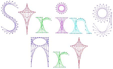 Math String Patterns Free - string an adventure in line designs napmath