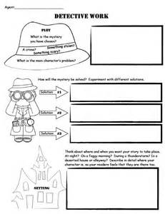Mystery Novel Outline Template by Mystery Writing A Fictional Narrative Unit Of Study